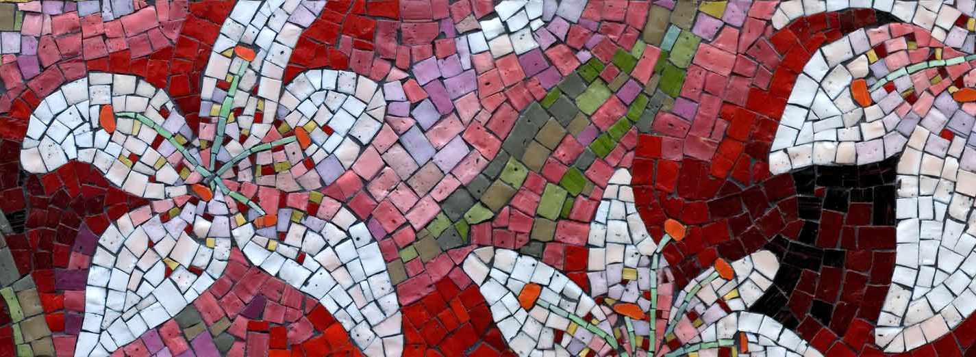 Smalti Floral Mosaic
