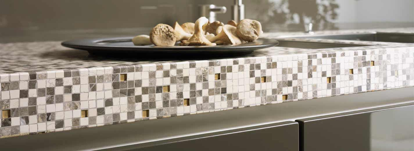 Kitchen Counter Mosaic