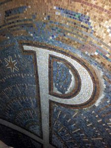 St.Thomas von Aquin, Ergänzung Wandmosaik