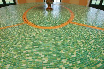 Smaltenmosaik für die Villa Borsig