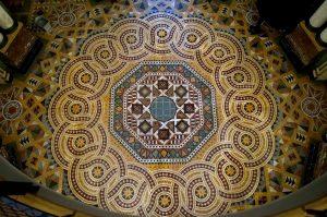 Fußbodenmosaik villa weigang bautzen