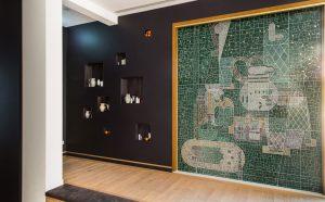 Wandmosaik für Kathi Kaeppel
