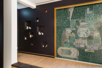 mosaic designed by Kathi Kaeppel