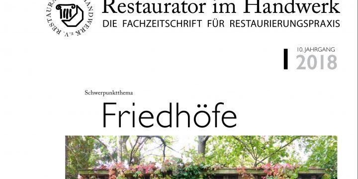 """Cosmomusivo im """"Restaurator im Handwerk"""""""
