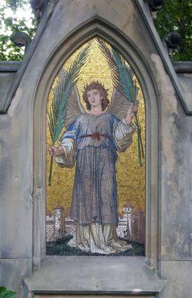Engel mit Palmzweig