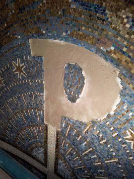 Umgestaltung des Kreuzes in St.Thomas von Aquin